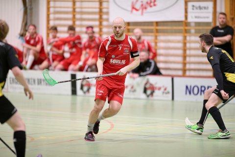 SEKS SCORINGER: Lars Erik Torp var Greåkers store spiller, med hele seks nettkjenninger i den tredje og siste semifinalen mot Sandnes.
