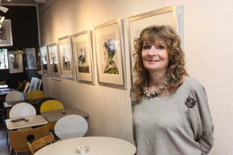 Ny utstilling: Liz Ravn viser grafisk kunst i galleri Hos Anette fra lørdag 1. juni.