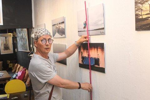 Lokale motiver: Fotograf Rolf Aikio stiller ut 20 motiver fra Sarpsborg i galleri Hos Anette fra lørdag 22. juni.