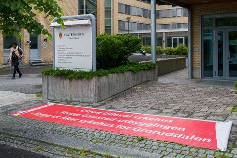 Styret i Helse sør-øst er samlet på Hamar for å behandle lokalisering av Ullevål og Gaustad på nytt.