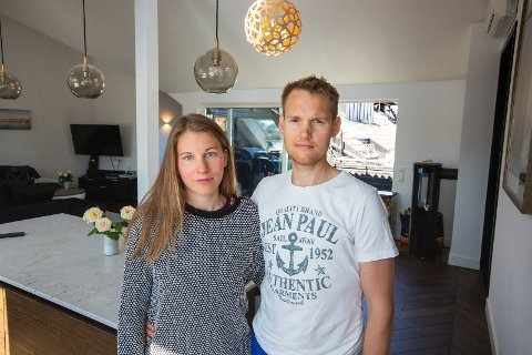 TRUSLER: Petter og Tina mottok trusler fra leietagerne etter de begynte å stille kritiske spørsmål, og holdt igjen depositumet.