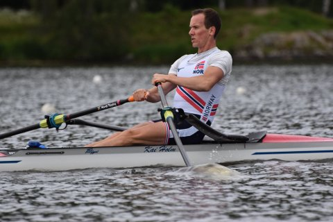 VERDENSCUP-KLAR: Jens Holm representerer Norge i verdenscup-stevnet i Rotterdam kommende helg.
