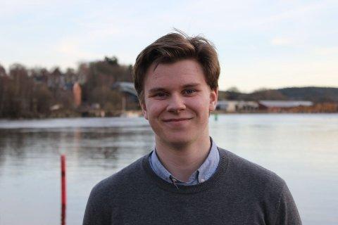 Mathias Lind Høyning, Nestleder AUF i Østfold, Østfold.