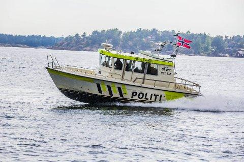 HEKTISK: Det har vært en hektisk sommer for Politibåten i Øst politidistrikt.