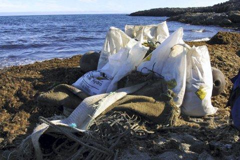 TRUSSEL: Plastforurensing er en trussel mot livet i havet, mener Halvard Haga Raavand.