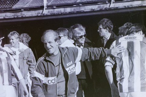 TRENER: Steinar Kristiansen var trener i SFK etter den aktive fotballkarrieren.