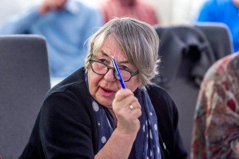 Grete Moræus Stray. (Foto: Tobias Nordli)
