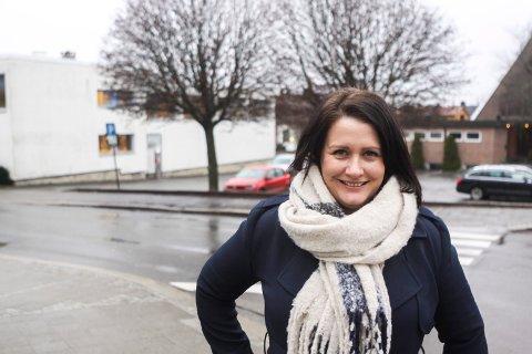 Endelig: Kulturutvalgsleder Therese Thorbjørnsen kan endelig se at et nytt bibliotek blir en realitet.