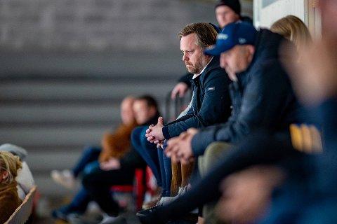 Viktige kroner: Daglig leder i Sparta Henning Svendsen fikk viktige koronakroner.