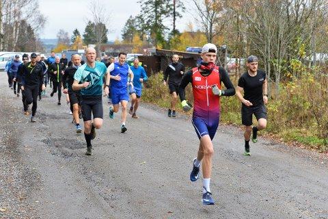 31 med: Torsdagsløpet går sin gang og 31 deltakere ved med denne gang.