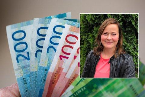 HOBBYSPARER: Christine kaller seg en hobbysparer, og har siden mars spart flere tusen på fondskonto.