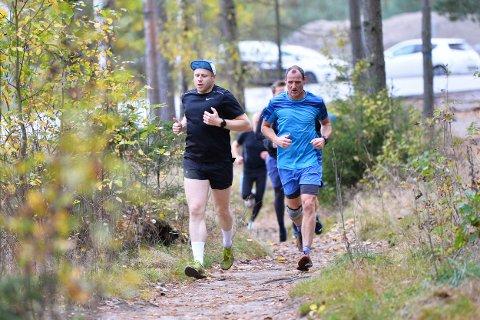 MOSJONSLØP: Det var 46 deltagere i Torsdagsløpet denne uken.
