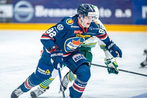 NY KONTRAKT: Jonas Meisingset skal bidra for moderklubben på hockeyrinken også neste sesong.