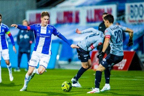 TRENINGSKAMP: Gaute Vetti og Sarpsborg 08 møter Stabæk på Stadion i sesongens første treningskamp.