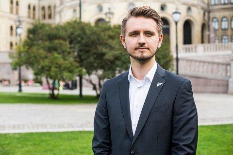 KAN GI MER ENN 1200 SARPINGER EN BEDRE JUL: Freddy André Øvstegård håper at Stortinget vil haste-vedta SVs forslag.