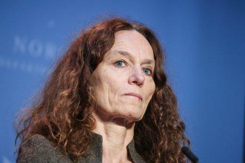 Camilla Stoltenberg er direktør i Folkehelseinstituttet, som har registrert økende smittetall de siste to ukene.