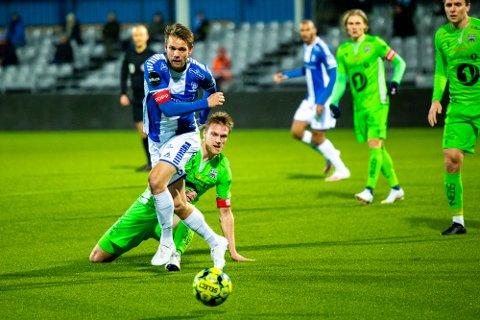 GLAD: Ole Jørgen Halvorsen mener det er en sterk prestasjon at Sarpsborg 08 berget plassen i eliteserien etter den fryktelige starten.