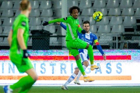 Ønsket tilbake: Amin Askar var i sommer i kontakt med Sarpsborg 08 om å komme tilbake, men valgte Kristiansund BK for en ny sesong.