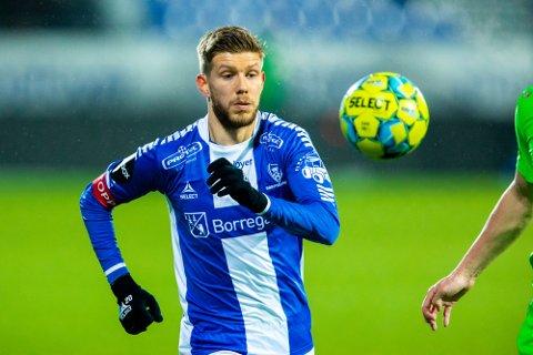 Reist hjem: Anton Saletros har reist hjem til Sverige og spiller ikke siste seriekamp mot Molde lørdag.