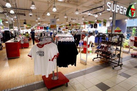G-Sport i Amfi Borg er en av butikkene som legges ned.