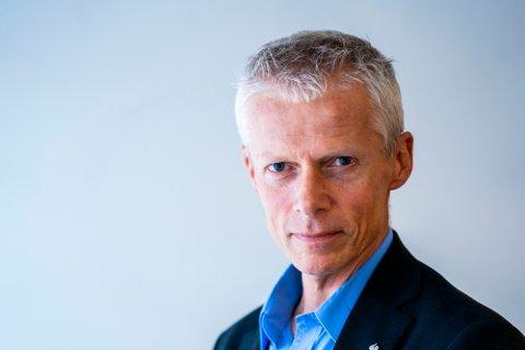 Oslo 2019902.  Skattedirektør Hans Christian Holte i Skattedirektoratets lokaler på Helsfyr i Oslo.