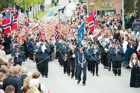 FÅR DEKKET OPPDRAG: Byens korps får betalt for oppdragene som eventuelt blir avlyst 1.- og 17. mai i Sarpsborg.