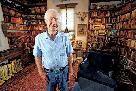I 2010 annonserte mangemillionær og hobbyarkeolig Forrest Fenn at han hadde gravd ned en skatt med verdier til rundt ni millioner kroner. Nå er skatten funnet. Foto: Luis Sanchez Saturno / Santa Fe New Mexican