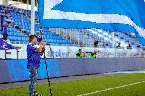 Lite med folk: Det er stusselig med bare 200 tilskuere på Sarpsborg 08s hjemmekamper. Nå søkes det om å få inn 2500 framover.