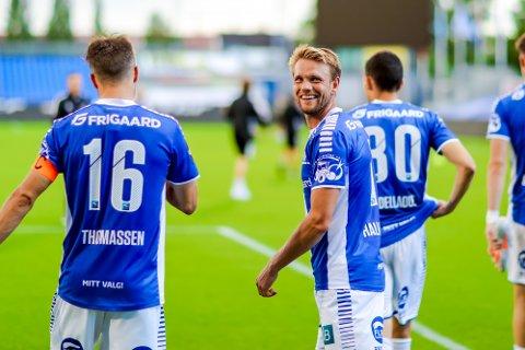 Er tilbake: Ole Jørgen Halvorsen er tilbake og klar for spill mot Haugesund.