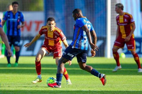 Fra start: Mustafa Abdellaoue er med fra start for Sarpsborg 08.