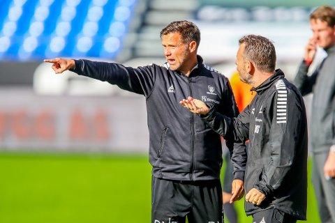 Kan avgjøre:Sarpsborg 08s assistenttrener Tom Freddy Aune mener at tre poeng er det laget sikter seg inn på.