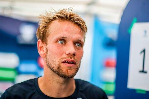 NY ROLLE: Mye tyder på at Ole Jørgen Halvorsen fortsetter som spiss for Sarpsborg 08 i onsdagens hjemmekamp mot Kristiansund BK.