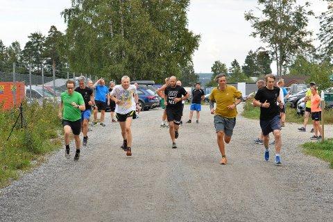 HOLDER STAND: Torsdagsløpet holder stand som et meget populært mosjonsløp. Så langt i 2020 har 500 løpere deltatt.