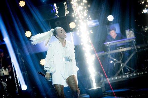 MGP i «Stjernekamp»: Ingeborg Walther skal prøve seg på den danske Eurovision-vinneren «Only Teardrops» når det skal konkurreres i MGP-låter i «Stjernekamp» på lørdag.