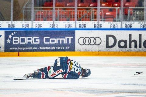 Norsk ishockey ligger nede. Forbundet tror flere eliteserieklubber kan bli rammet av konkurs. Men det er ikke nevnt om Sparta er en av dem. Illustrasjonsfoto Thomas Andersen