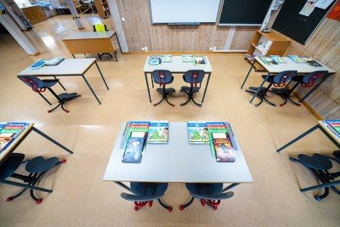 «Nå er det viktig at de ekstra korona-pengene når frem til skolene. Kommunene kan ikke kutte i skolebudsjettene og skylde på korona», skriver stortingsrepresentant Mathilde Tybring-Gjedde (H) i dette innlegget. (Foto: Gorm Kallestad, NTB)