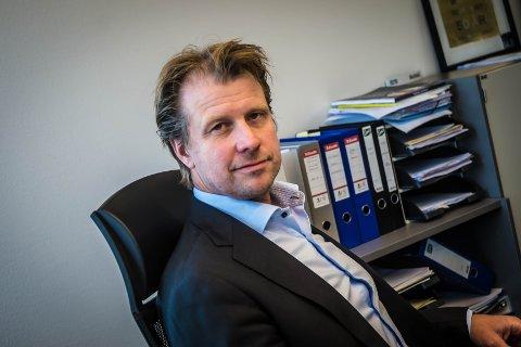 TOK SATS: Jørgen Evensen er konsernsjef i entreprenørkonsernet Betonmast.