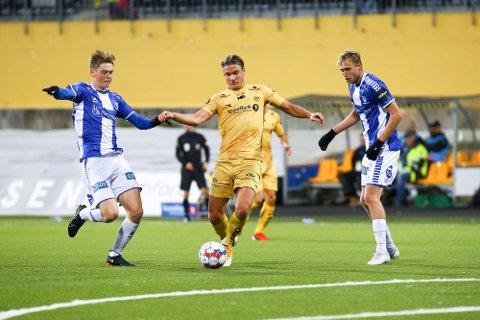 Erik Botheim scoret sitt 13. mål for sesongen søndag.