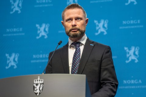 Helseminister Bent Høie (H).
