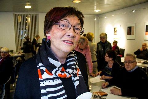 ÆRESMEDLEM: Turid Asbøll er utnevnt til æresmedlem i Sarpsborg kunstforening.