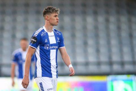 Jørgen Strand Larsen fra tiden i Sarpsborg.