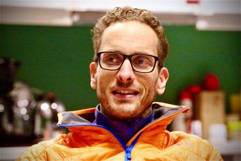 ØSTFOLD: Ole Kristian Bergerud (41) er heltidsbonde på gården Bergerud i Varteig i Sarpsborg, hvor økologisk ammeku er hovedproduksjonen.