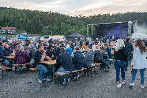 Suksess i 2019: Slik så det ut under Den store havnefestivalen i Skjebergkilens marina i 2019. Nå har festivalen fått stimuleringsmidler til å kunne holde arrangementet også i 2021.