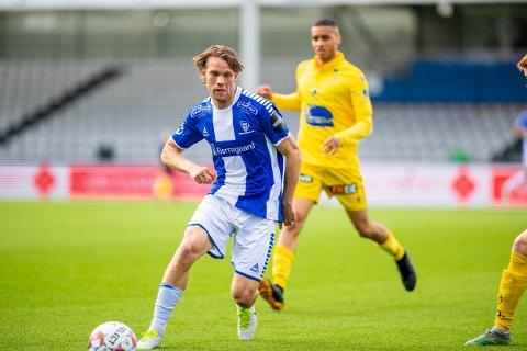 Eldste: Ole Jørgen Halvorsen er eldste spilleren i Sarpsborg 08 troppen denne sesongen.