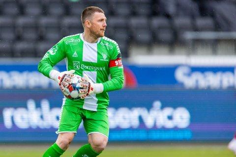 Tryggheten selv: Anders Kristiansen har vært tryggheten selv bakerst hos Sarpsborg 08.