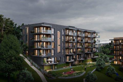 Sarpsborg-bedriften Ove Skår AS skal sette opp to boligblokker i Oslo. Prosjektet vil gi 107 nye boliger ikke langt unna Ekeberg.