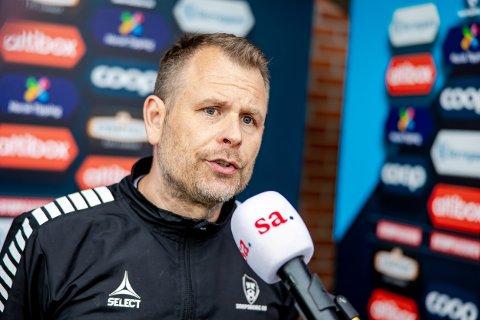 TRENERRETUR: Mikael Stahre fikk en tung start som IFK Göteborg-trener.