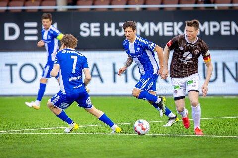 Fra start: Emil Pálsson spiller fra start for Sarpsborg 08 mot Tromsø.