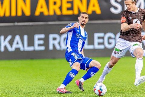 SPILLETID: Mohamed Ofkir ser ut til å være høyaktuell for en plass i startelleveren mot Haugesund søndag.