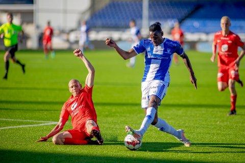 STARTER: Den raske franskmannen Rashad Muhammed spiller fra start i kveldens kamp mot Molde.